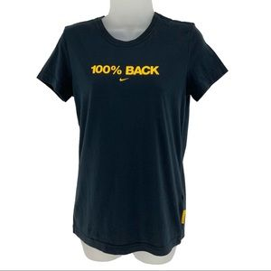 "Nike Livestrong ""100% Back"" Short Sleeve T-shirt"